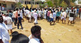 ರಾಯಚೂರು: ಪೊಲೀಸರ ವಿರುದ್ಧ ಕಾಂಗ್ರೆಸ್ ಕಾರ್ಯಕರ್ತರ ಕಿಡಿ