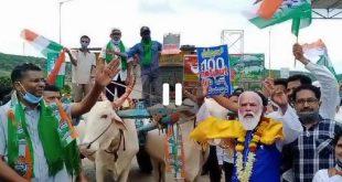 ಗೋಕಾಕ ನಗರದಲ್ಲಿ ಕೆಪಿಸಿಸಿ ಕಾರ್ಯಾಧ್ಯಕ್ಷರಾದ ಸತೀಶ ಜಾರಕಿಹೊಳಿ ಅವರ ನೇತೃತ್ವದಲ್ಲಿ ಪ್ರತಿಭಟನೆ: