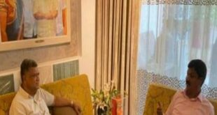 ಮಾಜಿ ಮುಖ್ಯ ಮಂತ್ರಿ ಅವರ ಮನೆಗೆ ಮಾಜಿ ಸಚಿವ ರಮೇಶ್ ಜಾರಕಿಹೊಳಿ ಭೇಟಿ
