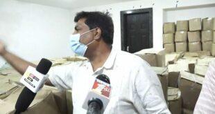 ಬೆಳಗಾವಿ :ಆಹಾರ ಕಿಟ್ ಅನ್ನು ಬಿಜೆಪಿ ನಾಯಕರ ಮನೆಗಳಿಗೆ ಸಾಗಾಟ ಮಾಡಲಾಗುತ್ತಿದೆ.: ಬಿಜೆಪಿ ನಾಯಕರ ವಿರುದ್ಧ ಗಂಭೀರ ಆರೋಪ