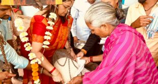 ಬಿಜೆಪಿ ಮಹಿಳಾ ಮೋರ್ಚಾ ಉಪಾಧ್ಯಕ್ಷ ಸೋನಾಲಿ ಸರ್ನೋಬ ತ  ಕಾರ್ಯಕ್ಕೆ ಎಲ್ಲೆಡೆ ಮೆಚ್ಚುಗೆ